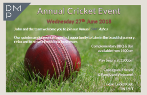 DMP-LLP cricket invitation 2018