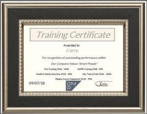 DMP-LLP Training Certificate
