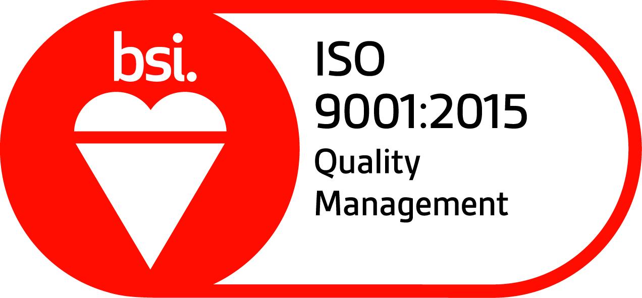 DMP-LLP ISO9001 assurance logo