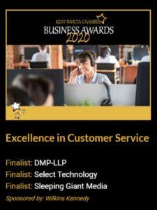 DMP-LLP Kent Invicta Chamber Business Award Ad