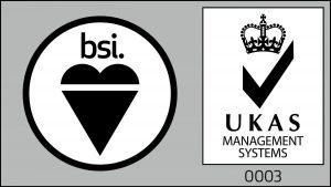 DMP-LLP ISO9001 UKAS Logo
